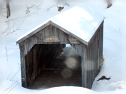 Restored Copeland Covered Bridge February 2003