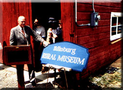 Senator Farley at the Rural Museum