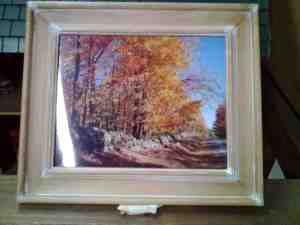 Autumn Picture 2015 Raffle Item by Norma Porteus
