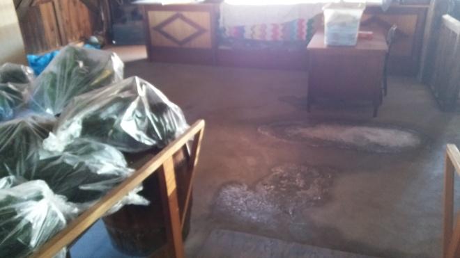 EHS Rural Museum Snow Leak 20170322_151757